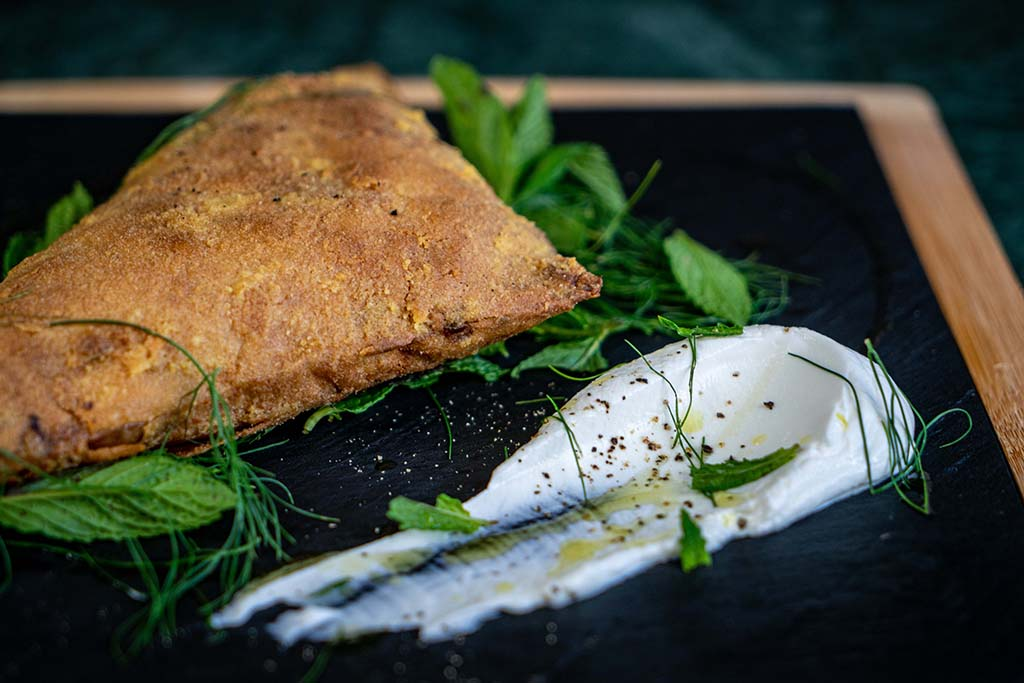 l amiral restaurant and bar spanakopita